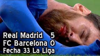 Real Madrid 5   Barcelona 0 - Fecha 33 (Parodia)