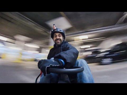 INSANE Crazy Cart Drifting | Top Gear Magazine