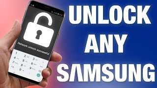 How to Unlock Samsung Phone With Code By IMEI ANY Model (S10/Note 9/8/S9/S8/S7/J7/J5/J3/A8/A5/A3...)