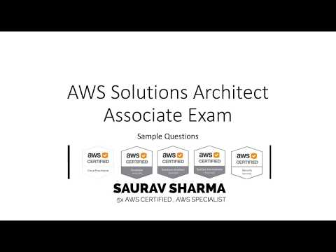 Official AWS Solutions Architect Associate Sample Practice Questions