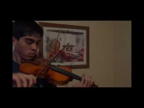Skyrim Theme Cover (Violino/Violin)