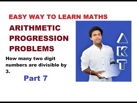 Arithmetic Progression Problems: Class 10: PART 7