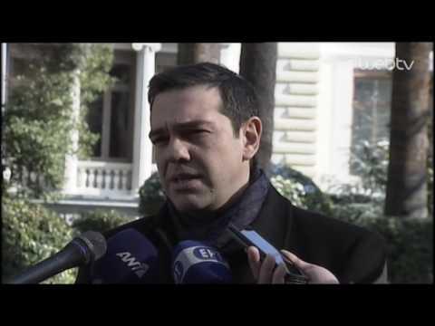 Δήλωση του Πρωθυπουργού Αλέξη Τσίπρα για το Κυπριακό μετά την ολοκλήρωση της συνάντησης με τον ΠτΔ