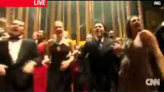 Angélique Kidjo with all artists - Move On Up Live The Nobel Peace Prize Concert