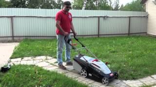 Обзор электрической газонокосилки Al-Ko видео