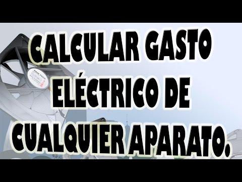 Calcular Gasto Eléctrico de Cualquier Aparato.
