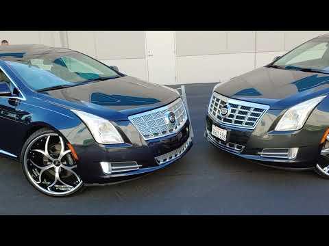 Cadillac xts on 24s