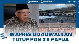 Bertolak ke Jayapura setelah Kunker di Manokwari, Ma'ruf Amin Dijadwalkan Tutup PON XX Papua 2021
