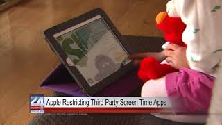 Apple Restricting Third Party Screen Time Apps