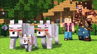 Wolf Life 3   Minecraft Animation