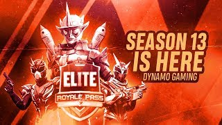 PUBG MOBILE LIVE WITH DYNAMO GAMING | SEASON 13 RANK PUSH WITH TEAM HYDRA | NO MEETUPS OR ELSE KILL