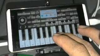 BERMAIN ORGAN PAKE HP ANDROID Part 2 Korg i one (PARODI)