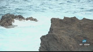 Woman jumps in to save two victims at Halona Blowhole.