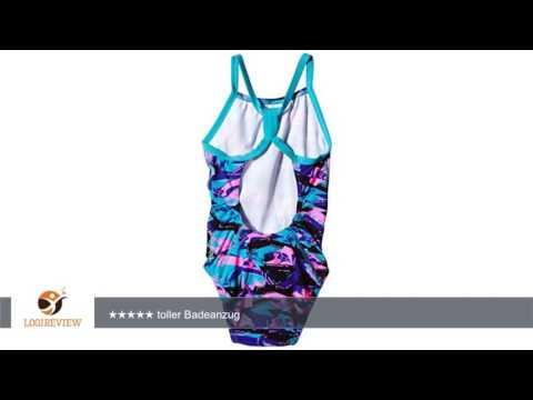 Speedo Mädchen Badeanzug Allover Rippleback Print 39 | Erfahrungsbericht/Review/Test