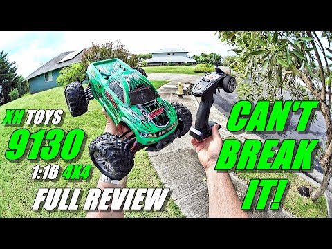 XH TOYS 9130 1:16 4×4 RC Truck Review – (Unboxing, Inspection, Bash Test!, Pros & Cons)