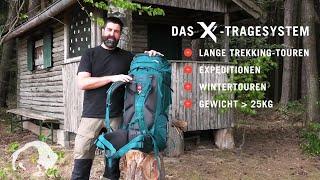 Tatonka X1-Rückensystem für Trekkingrucksäcke   TATONKA - EXPEDITION LIFE