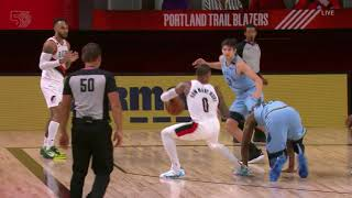 Damian Lillard & Mario Hezonja Drop Grizzlies Defenders In The Same Game