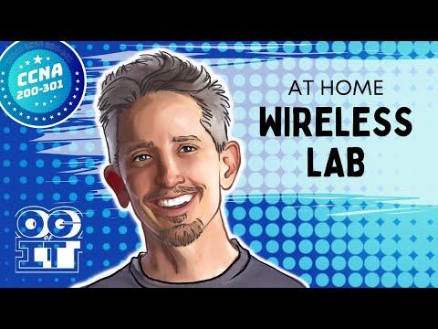 Home Cisco Wireless LAB : Cisco CCNA 200-301 - YouTube
