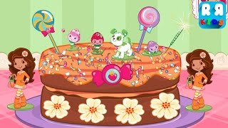 Strawberry Shortcake Bake Shop - Best Cooking Apps for Kids - Part 6 Baking Chocalicious Cake