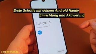 Tutorial: Android Smartphone einrichten - Erste Schritte (Samsung)   SeppelPower