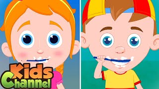 This Is The Way Nursery Rhymes for Kids | Schoolies Cartoons - Kids Channel