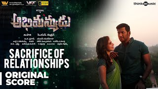 Abhimanyudu | Sacrifice of Relationships - Background Score | Vishal, Samantha | Yuvan Shankar Raja
