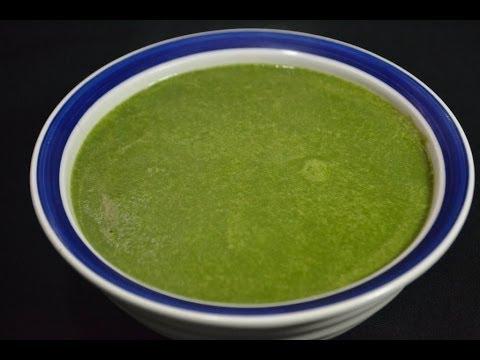 Deliciosa sopa cremosa de espinacas