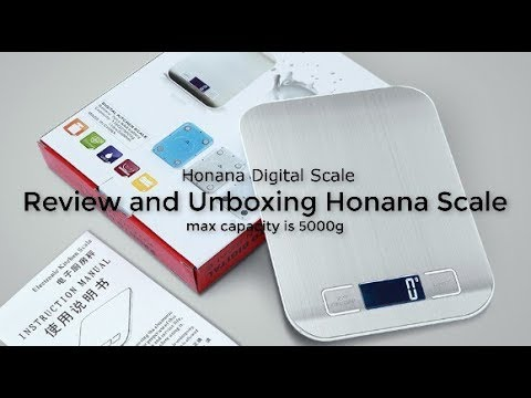 Review and Unboxing Honana Scale From Banggood
