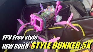 JW FPV New build Style bunker 5X/FPV Free style/와스타디움