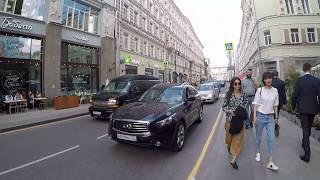 """Москва """"Сегодня и сейчас"""" на Мясницкой улице"""