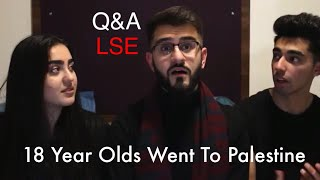 Q&A on Palestine | 1st Year LSE Students