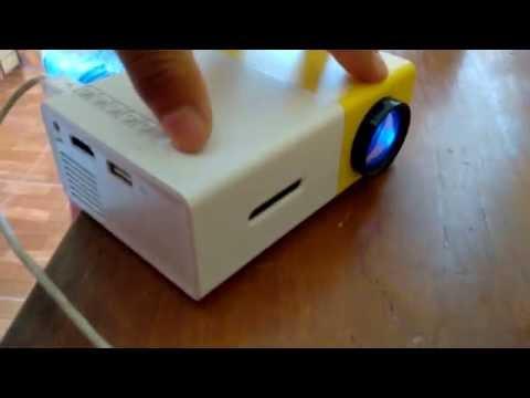 Proyector led mini en español Gearbest