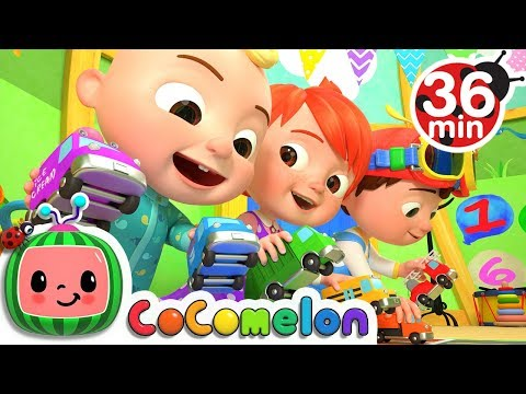 Download The Car Color Song | +More Nursery Rhymes & Kids Songs