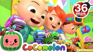 The Car Color Song | +More Nursery Rhymes & Kids Songs   CoCoMelon