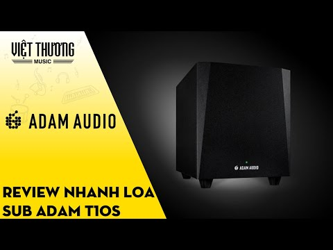 Review nhanh loa sub Adam T10S