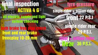 Honda Activa 4G /3G Full 2nd  Servicing Step Tutorial | How To Servicing Step For Best Services2018