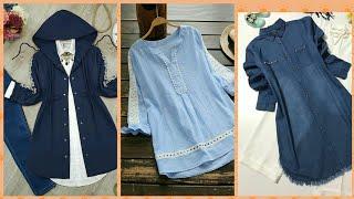 Stylish Beautifull Silk Cotton And Linen Fabric Casual Wear Designer Dresses