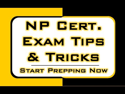Nurse Practitioner Certification Exam Tips & Tricks: Needle and ...