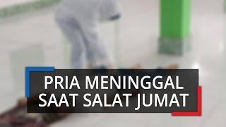 Meninggal di Dalam Masjid, Seorang Pria di Bogor Dievakuasi Petugas Berpakaian APD