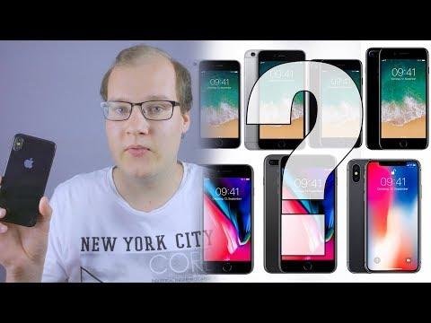 Welches iPhone kaufen? - iPhone X, 8, 7, SE oder iPhone 6S?? - KAUFBERATUNG