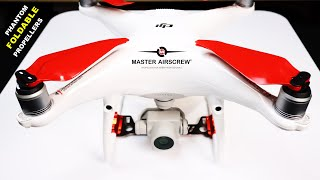 DJI PHANTOM - Foldable Props and Stealth Props are here - Master Airscrew