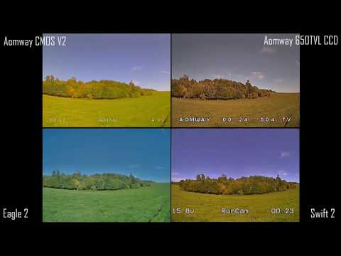 aomway-700tvl-cmos-v2--runcam-eagle-2--aomway-650tvl-ccd--swift-2--fpv-camera-comparison