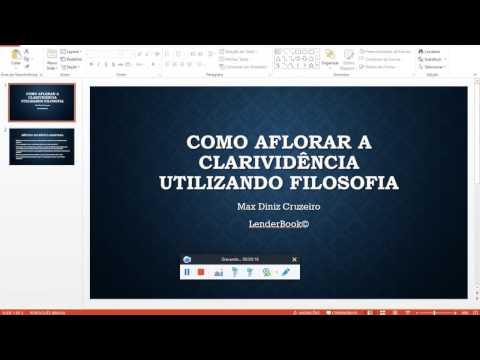 COMO AFLORAR CLARIVIDÊNCIA UTILIZANDO FILOSOFIA - Por Max Diniz Cruzeiro