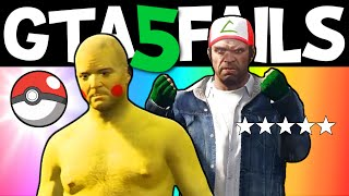 GTA 5 FAILS – EP. 21 (Funny moments compilation online Grand theft Auto V Gameplay)