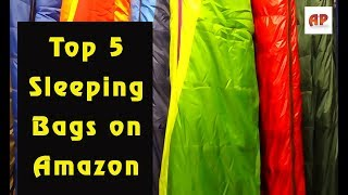 Top 5 Sleeping Bags on Amazon