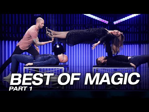 All The Best Magicians From Around The World! - America's Got Talent: The Champions (видео)