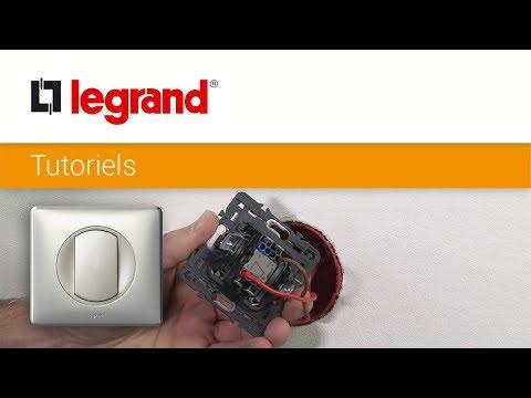 Comment remplacer un interrupteur par un interrupteur Céliane™ Soft de Legrand ?