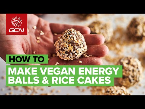 Mid Bike Ride Fuel: Vegan Energy Balls & Rice Cakes Anyone Can Make