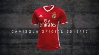 O Hino Que Se Veste - SL Benfica | Adidas - Camisola 2016/17