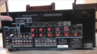 Onkyo TX-NR838 Home Theater Receiver Unboxing/ Review